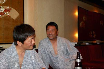 宴会に突入だ〜(笑)_e0166762_19451082.jpg