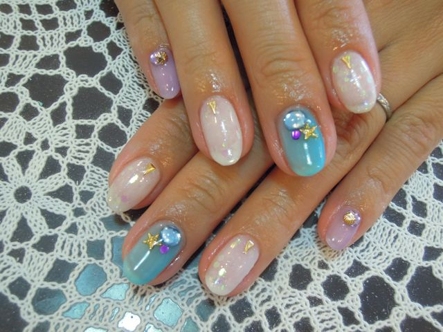 Summer Nail_a0239065_1081624.jpg