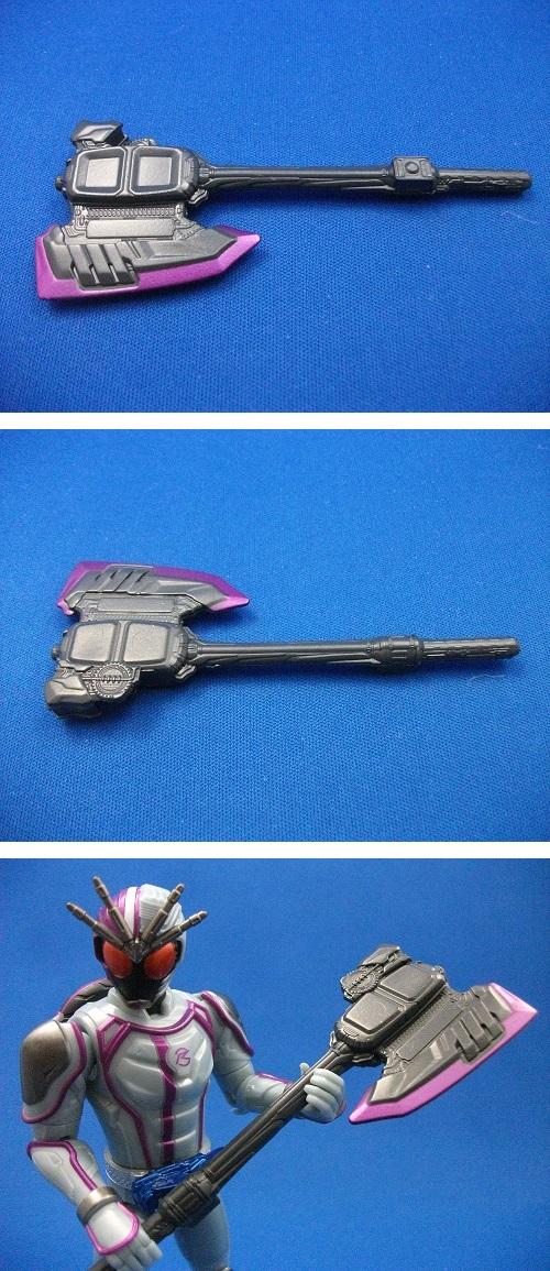 タイヤ交換シリーズTK10 仮面ライダーチェイサー_f0205396_671843.jpg