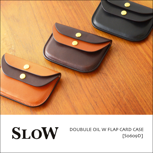 SLOW [スロウ] DOUBULE OIL W FLAP CARD CASE [S0609D] MEN\'S/LADY\'S_f0051306_16575319.jpg