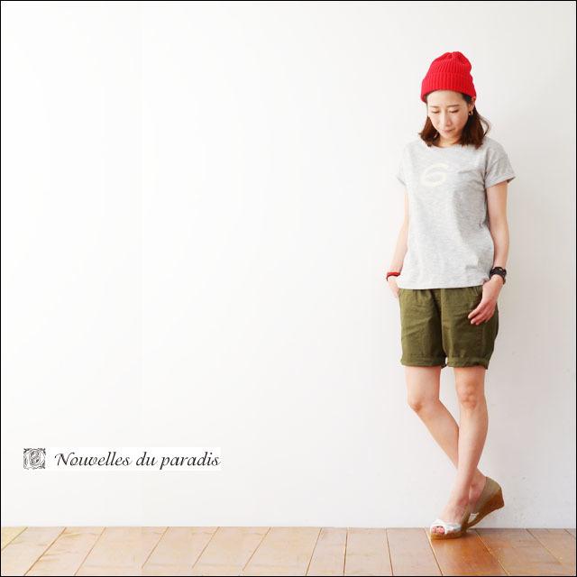 NOUVELLES DU PARADIS [ヌーヴェル ドゥ パラディ] ナンバープリントTシャツ [PC15204]  LADY\'S_f0051306_17395534.jpg