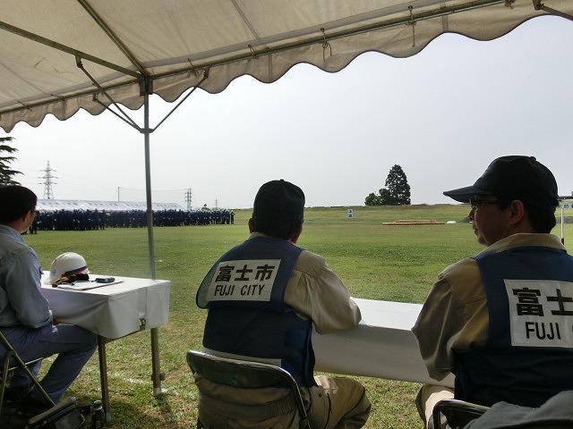 豪雨シーズンに備えた27年度富士市水防訓練_f0141310_7204348.jpg