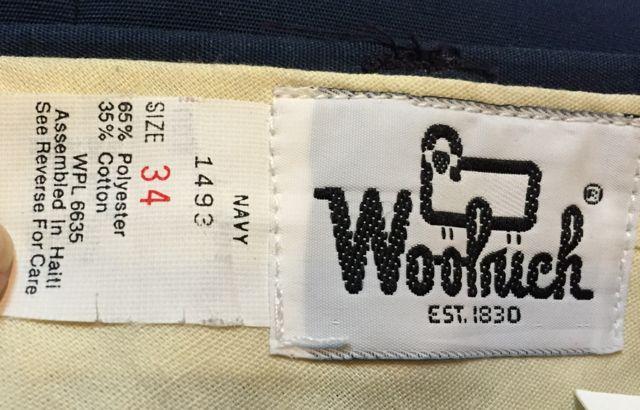 60\'s~デッドストック WOOLRICH パンツ 在庫状況⑦_c0144020_144055.jpg