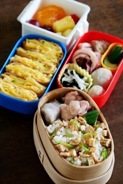 新 女子中学生のお弁当 25&主婦のお弁当_b0048834_1853267.jpg