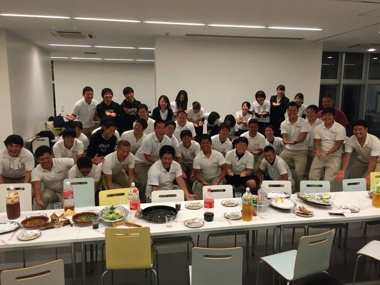 阪名戦レセプション/Freshman紹介①_e0137649_1042416.jpg