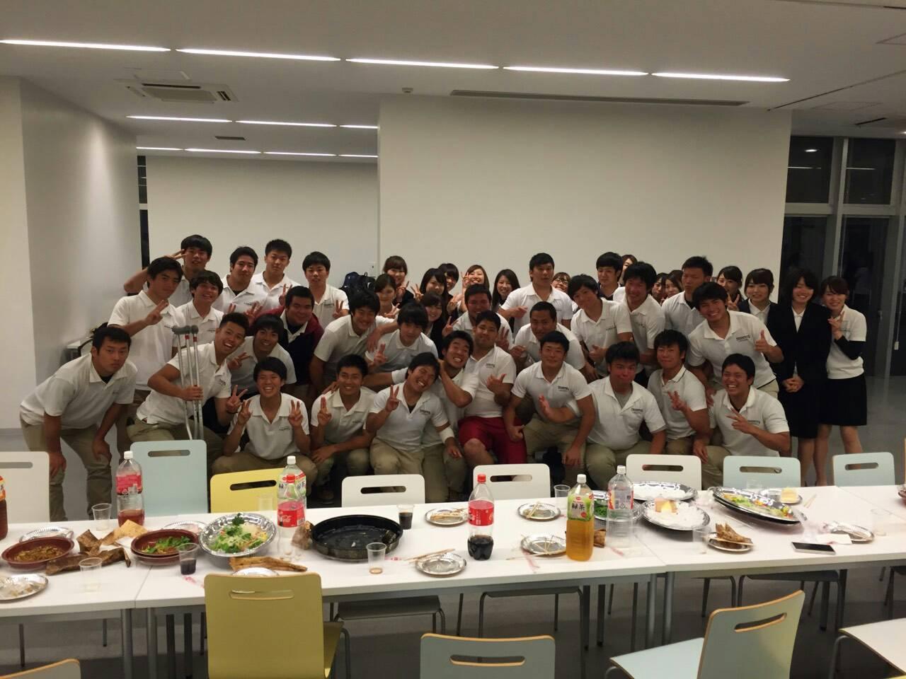 阪名戦レセプション/Freshman紹介①_e0137649_10425871.jpg