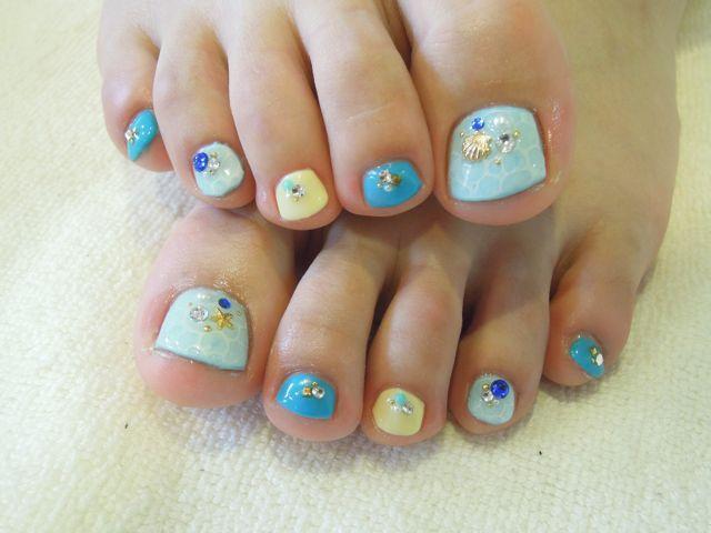 Sea Foot Nail_a0239065_18163326.jpg