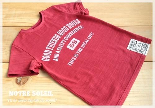 お兄ちゃんサイズのTシャツを4枚_c0289870_17000825.jpg