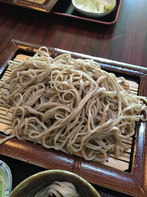 木草庵さんの「山菜そば祭り」_d0182179_1173071.jpg