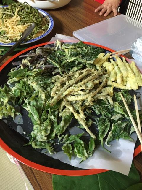 木草庵さんの「山菜そば祭り」_d0182179_1263987.jpg