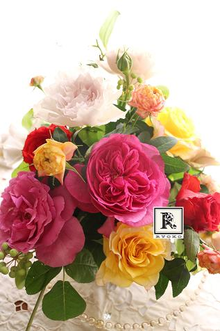 ☆One Day Lesson☆ 「バラの季節」2015.5.15 _c0128489_0223643.jpg