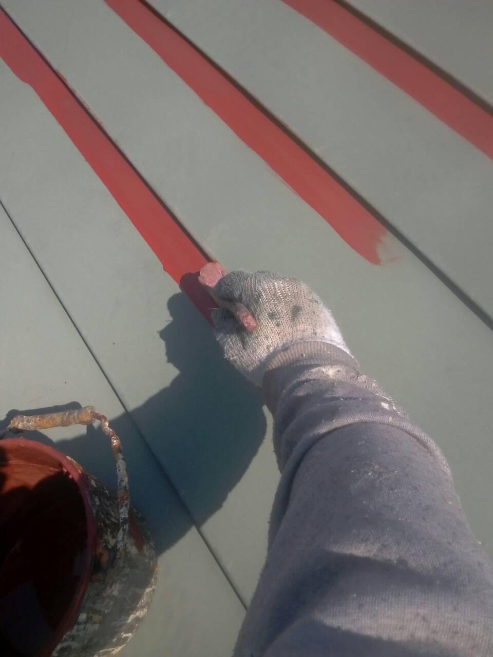 「桜台3丁目の家」 屋根の塗装_f0150893_19184555.jpg