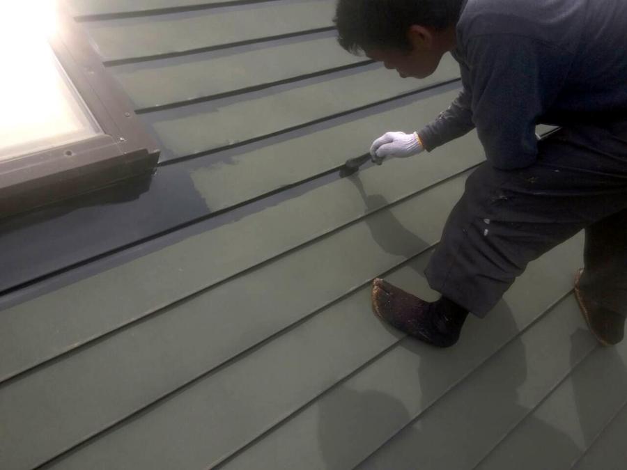 「桜台3丁目の家」 屋根の塗装_f0150893_19213696.jpg