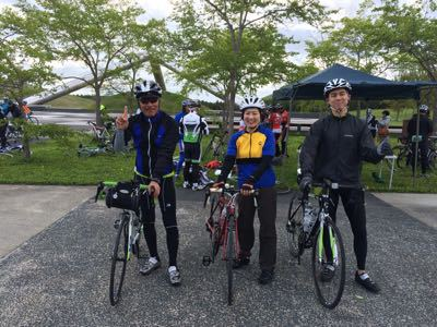 シーズン初の自転車イベント_f0096216_8444942.jpg