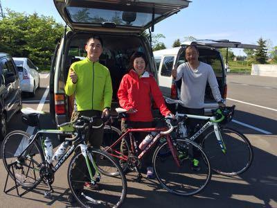 シーズン初の自転車イベント_f0096216_8445046.jpg