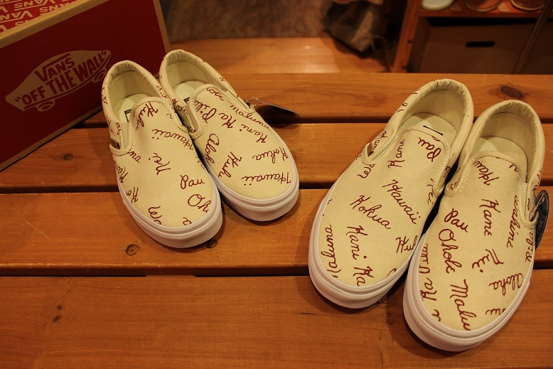 "VANS CALIFORNIA ""ISLAND SLIP-ON\"" ご紹介_f0191324_9262817.jpg"