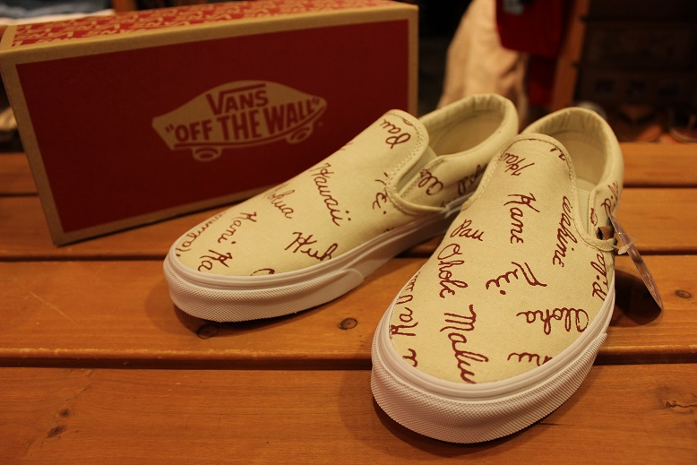 "VANS CALIFORNIA ""ISLAND SLIP-ON\"" ご紹介_f0191324_9274885.jpg"