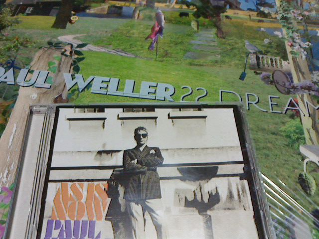 昨日到着レコ 〜 Saturns Pattern / Paul Weller_c0104445_21362242.jpg