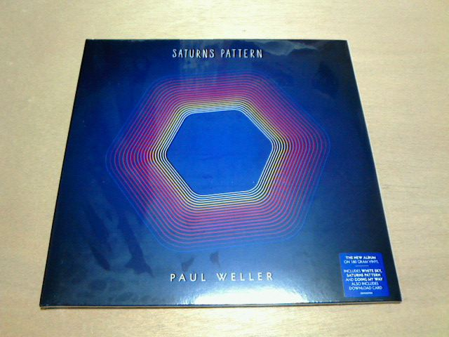 昨日到着レコ 〜 Saturns Pattern / Paul Weller_c0104445_2136345.jpg