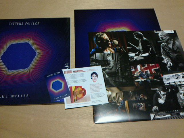 昨日到着レコ 〜 Saturns Pattern / Paul Weller_c0104445_2137158.jpg