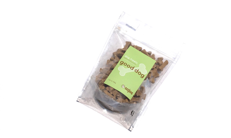 SOJOS Good Dog Treats Apple Dumpling ソジョーズ グッドドッグ     トリーツ アップル ダンプリング_d0217958_12285437.jpg