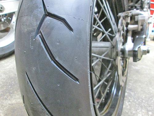 N尾っち号 WR250Xのタイヤ交換♪_c0086965_132052.jpg