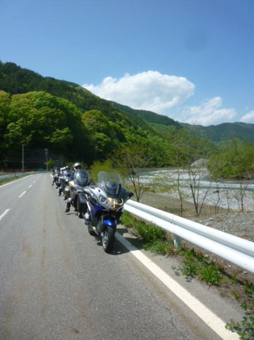 ツーリングクラブKMCのツーリング/長野県・高遠_e0254365_2183612.jpg