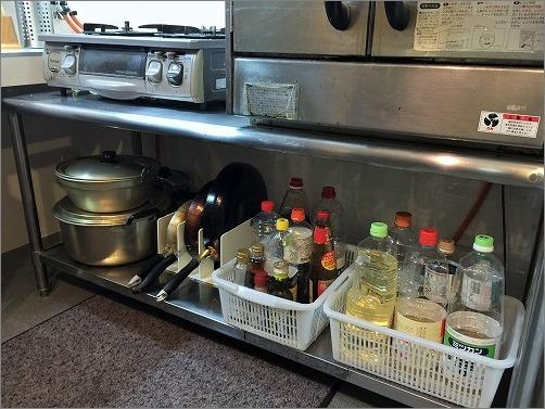 【 飲食店キッチンの整理収納作業 】_c0199166_17231215.jpg