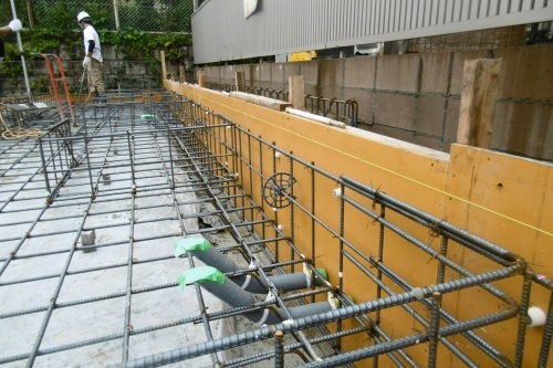 基礎工事 コンクリート打設_f0205367_14230387.jpg