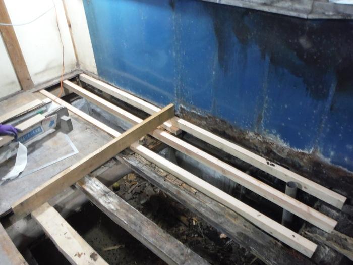 ダイニングキッチン ~ 天井張り_d0165368_184540.jpg