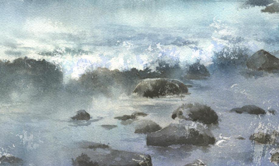 海 水彩画 更新 _f0176370_16303222.jpg