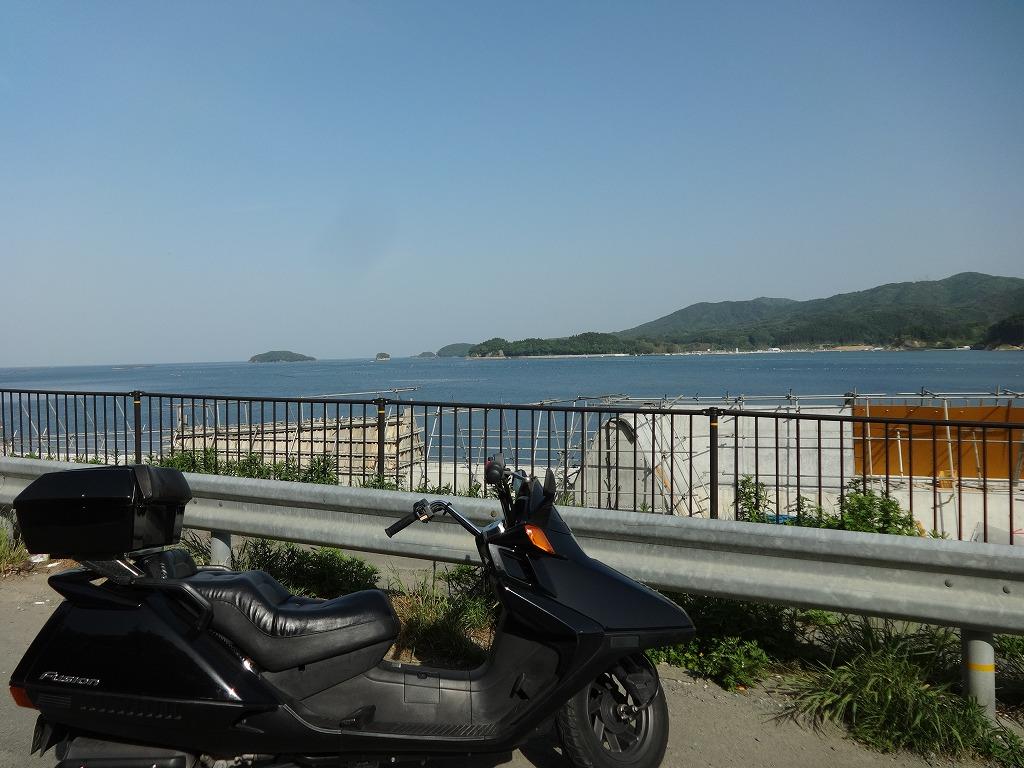 バイクで帰青!【5/14】 三陸被災地巡り~仙台の夜_d0061678_13301974.jpg