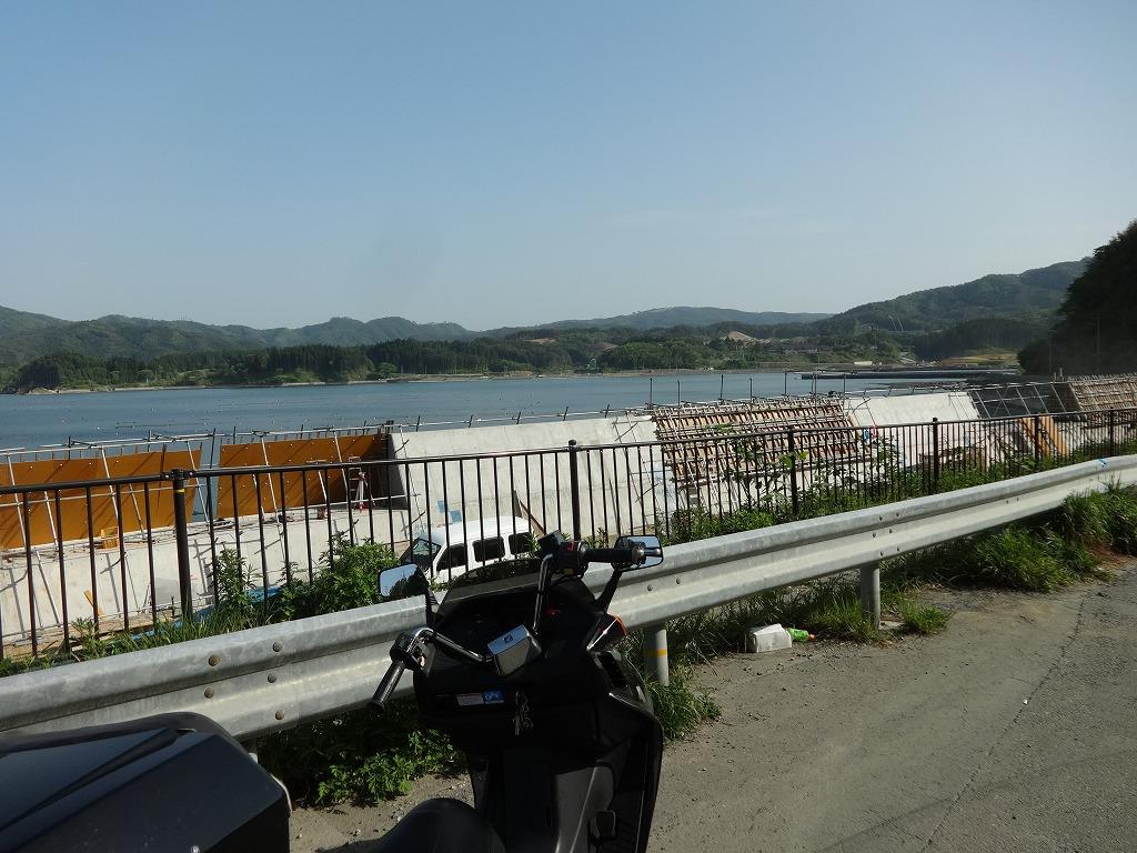 バイクで帰青!【5/14】 三陸被災地巡り~仙台の夜_d0061678_13302865.jpg