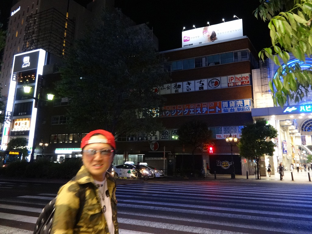 バイクで帰青!【5/14】 三陸被災地巡り~仙台の夜_d0061678_1354046.jpg