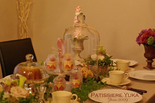 Pâtissière Yuka お菓子アルバム Ⅱ-③ 「Fraisier」_c0138180_13185481.jpg