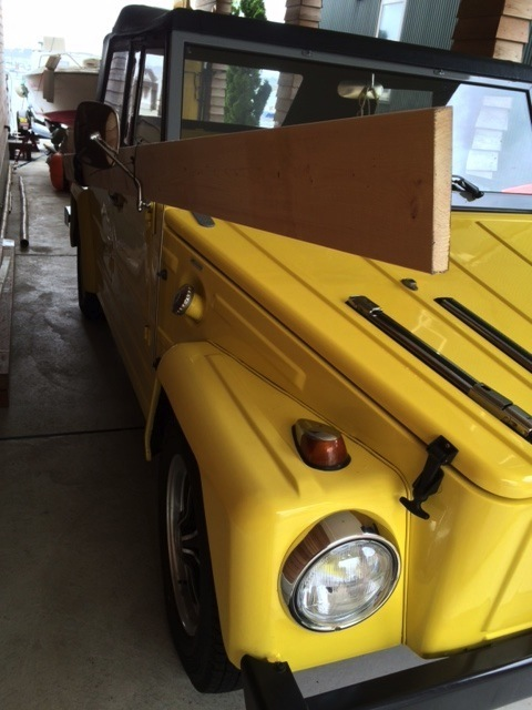 Cargo space  /  VW THING_b0195093_18480012.jpg