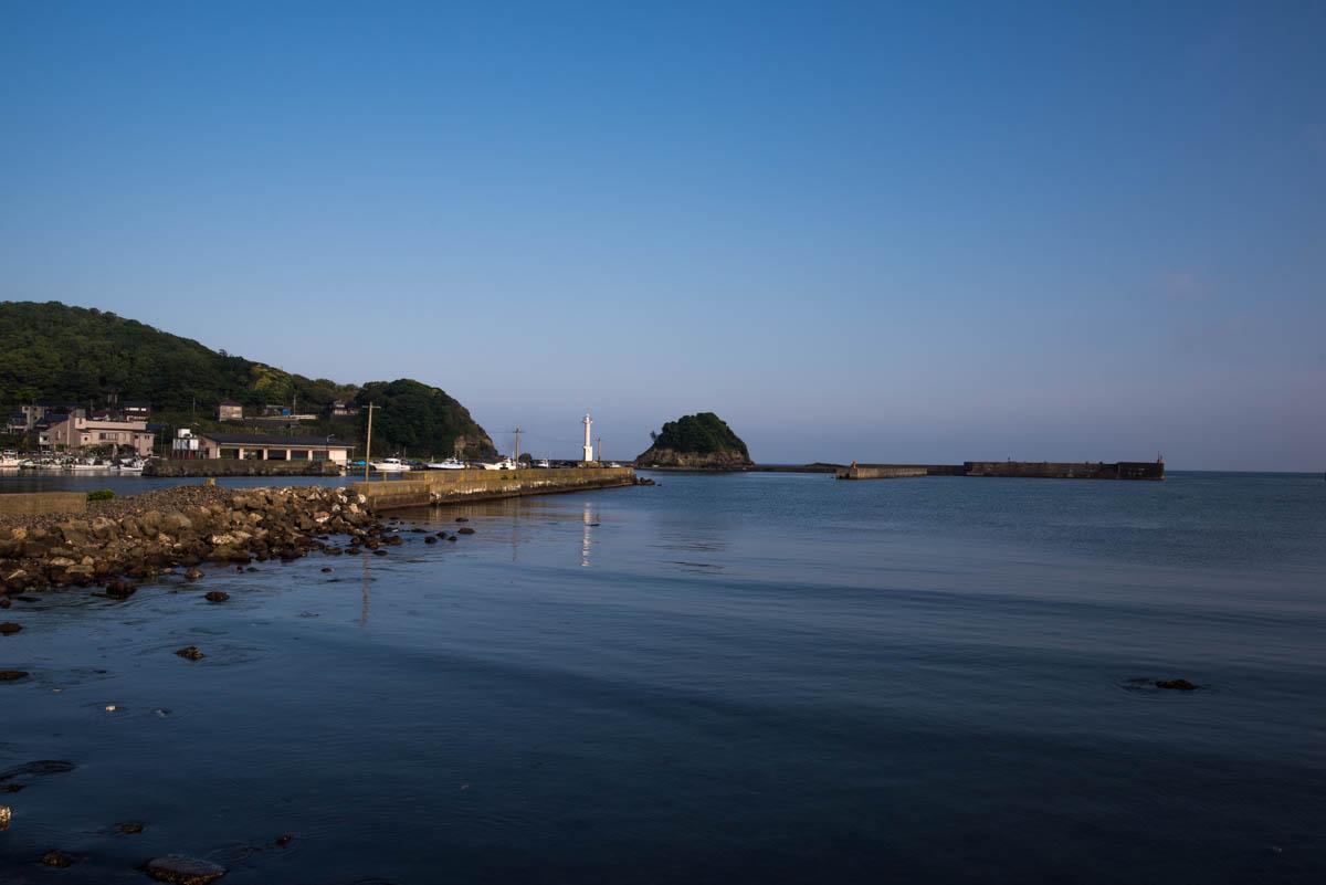 浅茂川漁港 : きさじろぐ