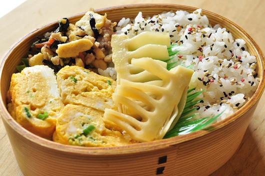 炒り豆腐のお弁当_b0171098_9125424.jpg