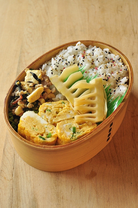 炒り豆腐のお弁当_b0171098_91816.jpg