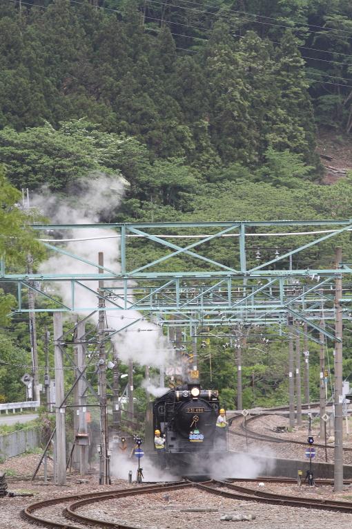 新緑と白い蒸気 - 2015年春・上越線 -  _b0190710_76095.jpg