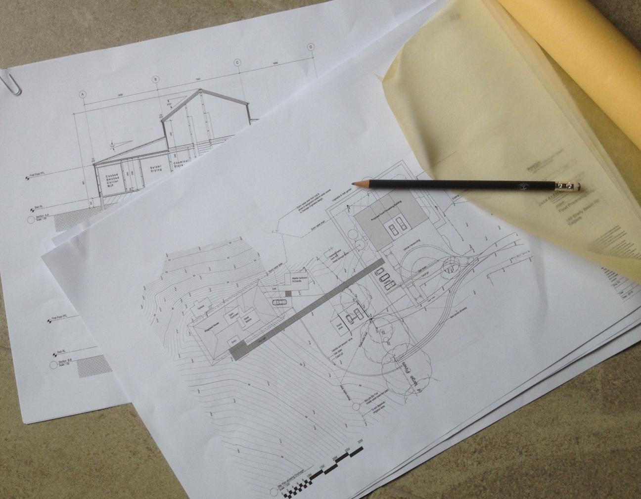 お父さんは家を建て、お母さんは柿を干す/ Daddy Builds Barns, Mommy Dries Persimmons_e0310424_08094105.jpg
