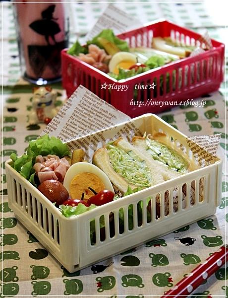 角食で沼サン弁当とバラ☆ピエールドロンサール♪_f0348032_17521912.jpg