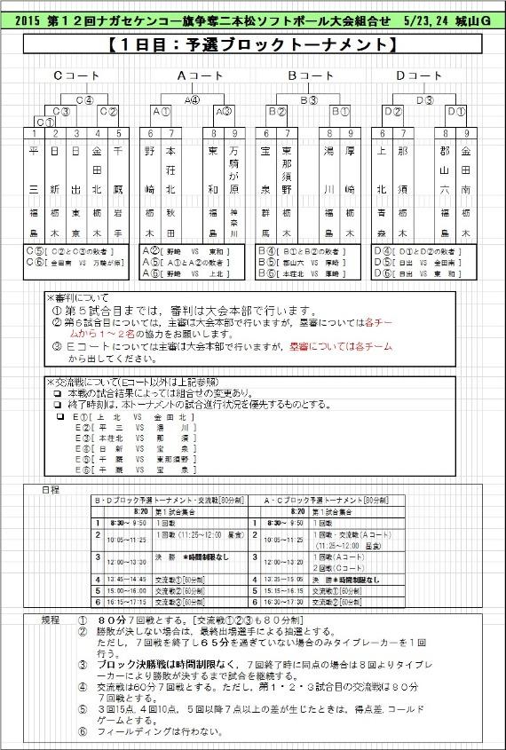 第12回二本松大会組み合わせ&神田VS日出_b0249247_1628526.jpg