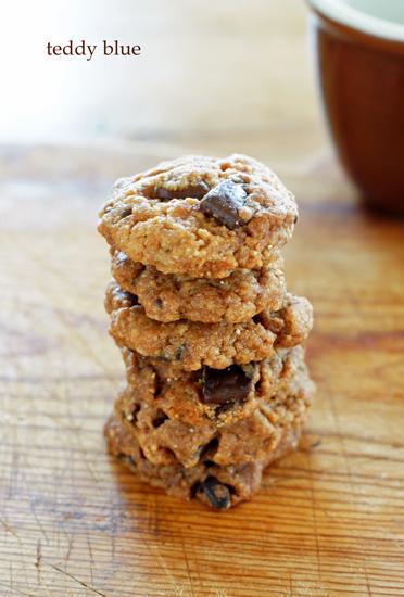 chocolate chip cookies  大好きチョコレートチップクッキー_e0253364_1954964.jpg