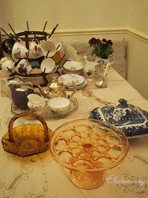 Vintage食器でおうちカフェ_f0238789_1912962.jpg