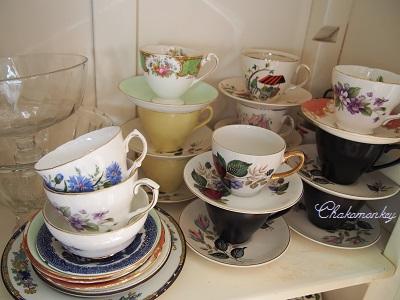 Vintage食器でおうちカフェ_f0238789_19263430.jpg