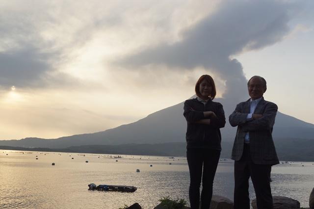 鹿児島大学水産学部訪問、大隅半島を訪ねて・・・研究調査_d0181492_1771411.jpg