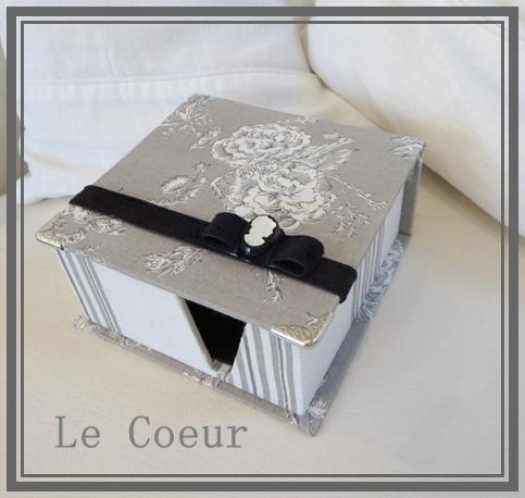 自宅レッスン シャルニエの箱 メモBOX 丸箱_f0305451_15151696.jpg