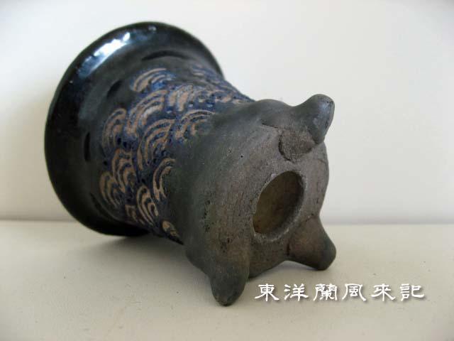 青海波紋万年青鉢                      No.1506_d0103457_23274554.jpg