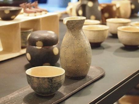 大野素子 陶展「ほころぶ時」初日_b0322280_10281290.jpg